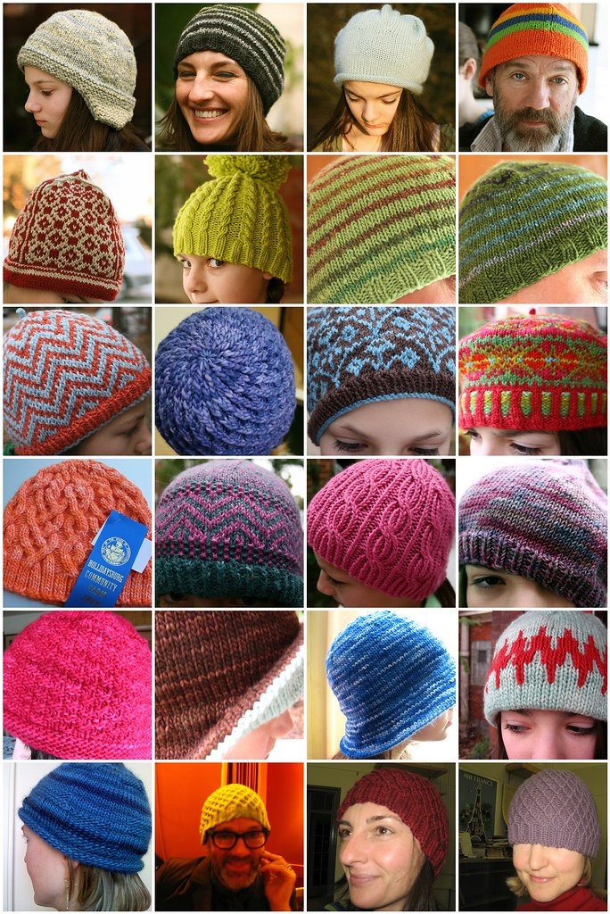 A Year (or so) in Hats