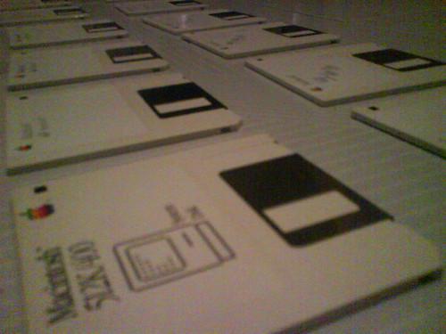 Disquetes de instalación del Macintosh