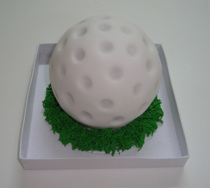 Golf Ball- Mini Cake