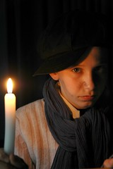 portrait photography by studio brederoo (Studio Brederoo) Tags: christmas by studio candle play darkness theatre made youngboy olivertwist lyceumypenburg brederoo
