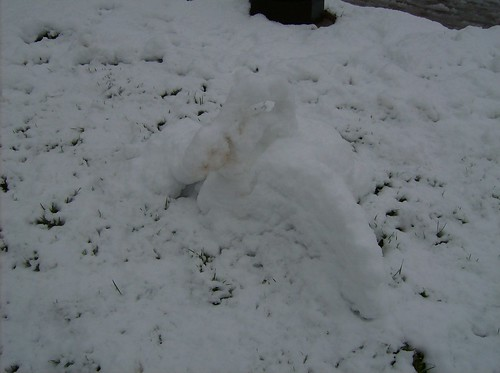 Swan (that is not a snowman)