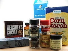 Spiced Dark Chocolate Pudding Fixins Pt. 1