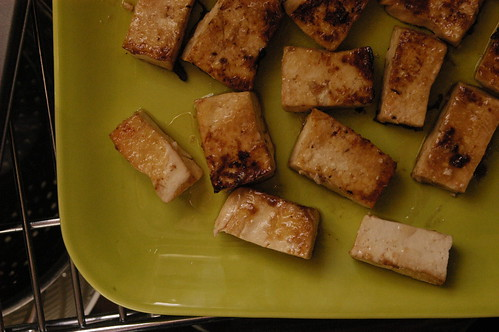 seared tofu