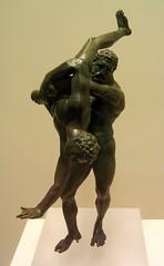 Herakles and Antaeus 2 (diffendale) Tags: statue museum bronze giant greek ancient wrestling labor athens greece national figure labour figurine libya hercules picnik struggle statuette libyan herakles antaeus antaios 1stcbce 2ndcbce pleiades:findspot=727070