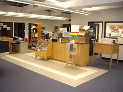 MVA Library Reorganization Station (mayorkoch) Tags: library educate organize schoollibrarymediacenter