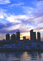 Just a  Dream (Nouf Alkhamees) Tags: sunset canon kuwait alk nono غروب alkuwait الكويت nouf كانون نوف