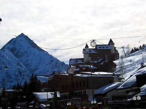 The town of Deux Alpes.