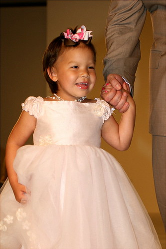Peyton in the fashion show in 2008