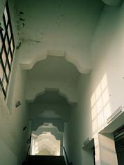 P1030794 (::kate::) Tags: light building window stairs university taiwan taipei luminosity gracekate