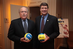 Attorney General Wayne Stenehjem and Ralph Blackman (century council) Tags: usa dc washington general wayne may listen beach scenes council wayne professional century general behind misty may athlete volleyball stenehjem attorney ask learn treanor volleyball attorneys