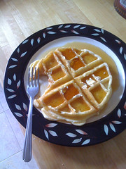 Aunt Catherine's Waffles