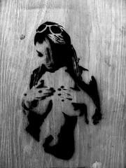 stencil (wojofoto) Tags: streetart amsterdam graffiti stencil chinchilla skate skatin xstreets
