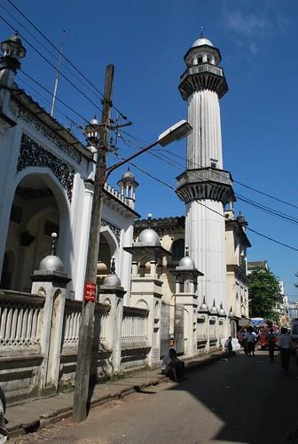 The MOGUL SHAH JAAMAY MASJID, Yangon by Tianyake.