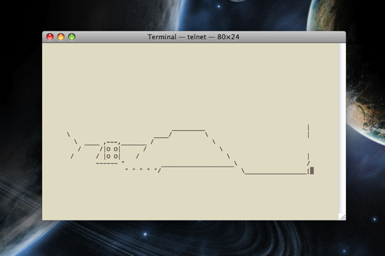 Star Wars ASCII: Mysterious Hill