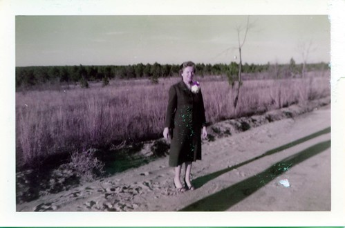 Grandmama Elise On Washington Road, Augusta, Georgia, August 23rd, 1958, photo © 2008-2009 by QuoinMonkey. All rights reserved.