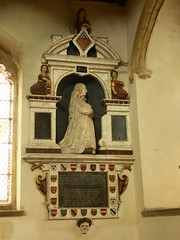 Jacobean monument - All Saints, Norton