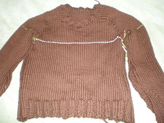 sweater for DH