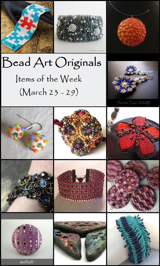 Bead Art Originals Items of the Week (3/23-3/29)