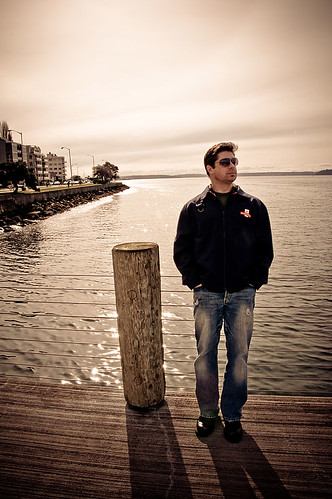 Josh on the Pier