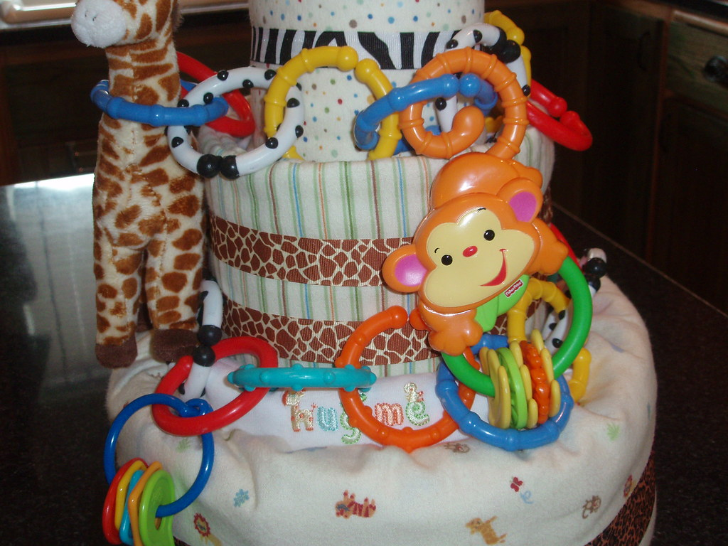 Baby Shower Towel Cake Towel Cake Baby Bjorn Product