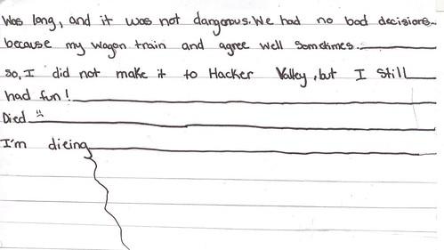 diary entry 2