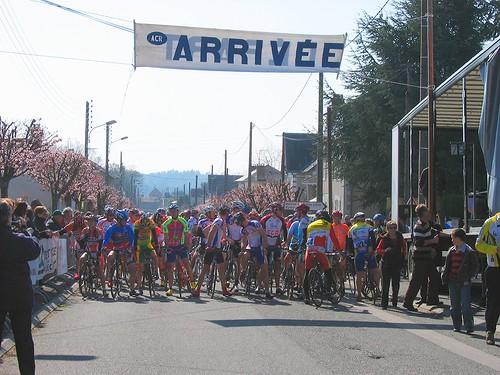 Depart - La Rochechouartaise 2009