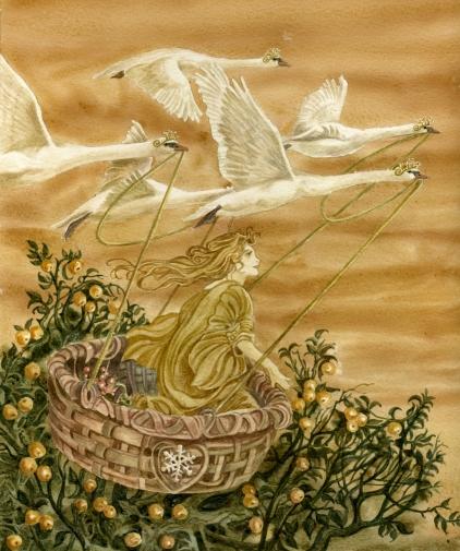 Wild Swans by Ian Daniels