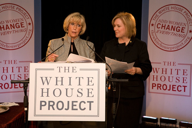 US Senator Kirsten Gillibrand and Lily Ledbetter by thewhitehouseproject