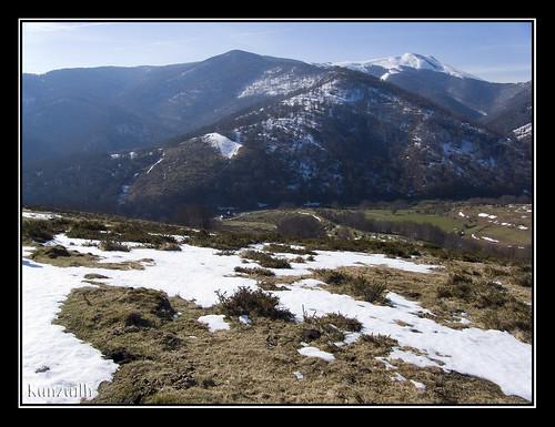 Ruta por los montes de Sorogain