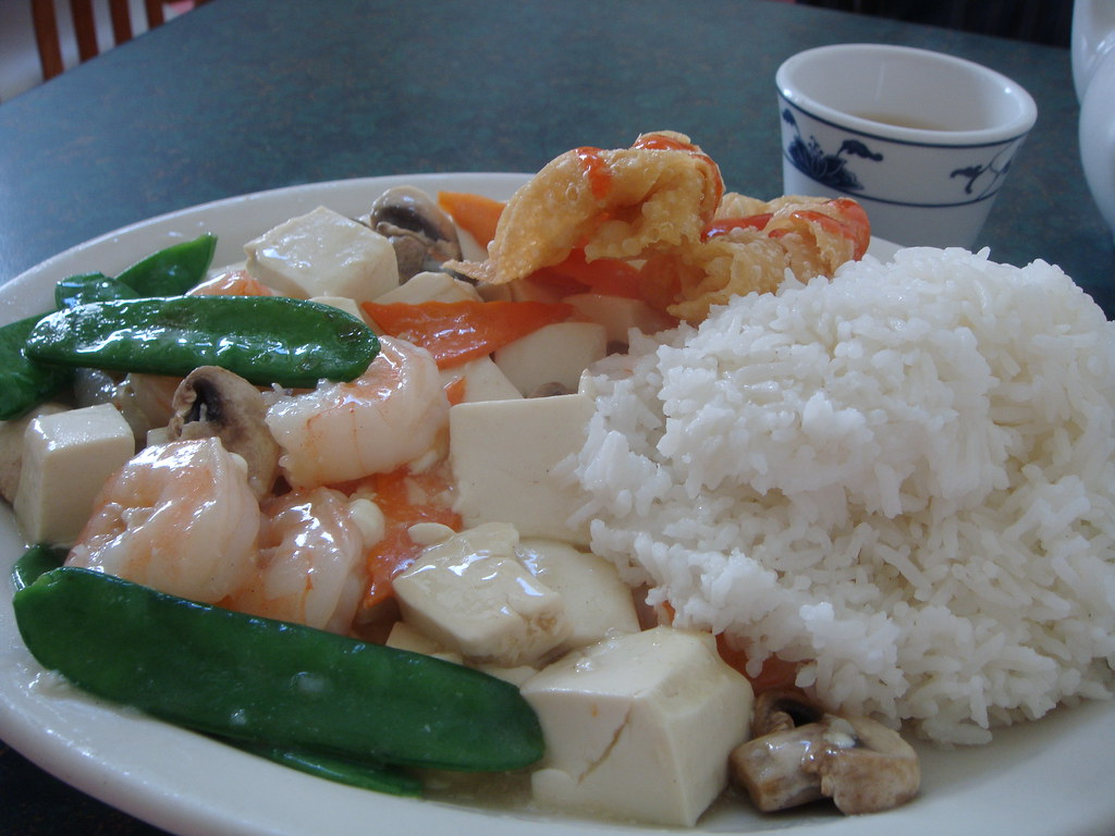 Prawns and Tofu