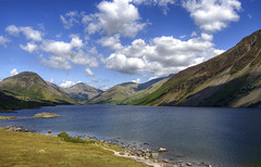 England: Cumbria, Wast Water (Tim Blessed) Tags: uk sky mountains nature clouds ilovenature landscapes countryside scenery lakes cumbria lakedistrictnationalpark singlerawtonemapped
