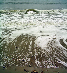 Tide (PureWarriorMaiden - More off than at the mo : )) Tags: ocean sea beach nature water waves tide dorset charmouth