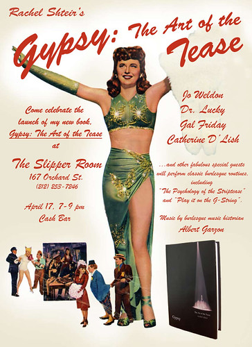 Rachel Shteir Gypsy Rose Lee Book Release Event