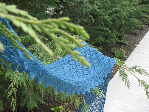 Willow Leaf Knitting Pattern : Johnnadette