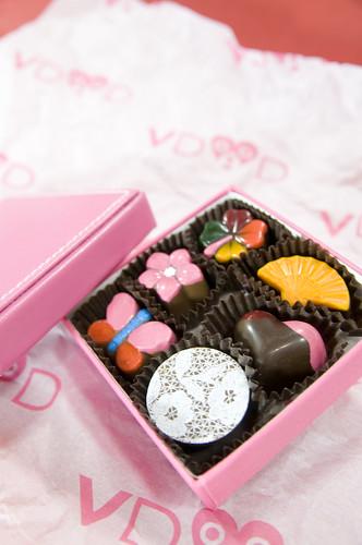 Bon Bon Chocolats, Virgine Duroc-Danner, Salond du Chocolat 2009 Tokyo, Shinjuku Isetan