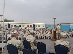 PSU All hands at Kuwait Naval Base