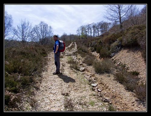 Camino del Collado de Iturrioz