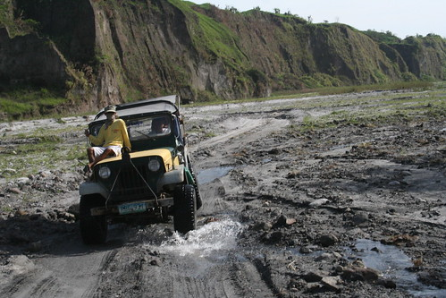Four wheel drive, Mt. Pinatubo