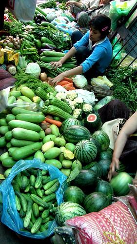 017.色彩鮮艷的各式蔬果