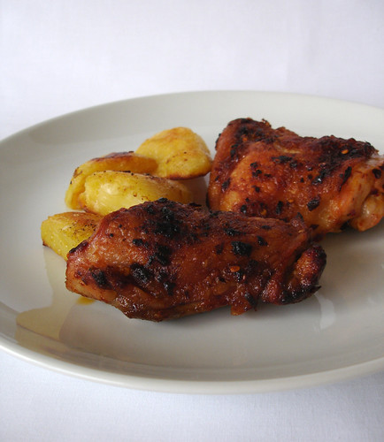 Lemon and chilli marinated chicken / Frango marinado com limão siciliano e pimenta calabresa