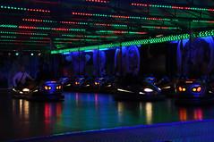 DSC_0731 (dennisbq) Tags: city carnival cars night lights evening nikon europe neon belgium fair bumper shooting bruges rides attractions colourfull d90
