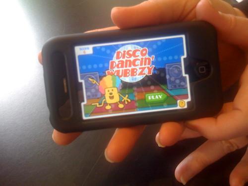 Wubbzy iPhone App