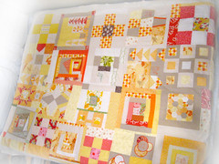 SewConnected Quilt Top (mochistudios) Tags: quilt patchwork quiltingbee sewconnected
