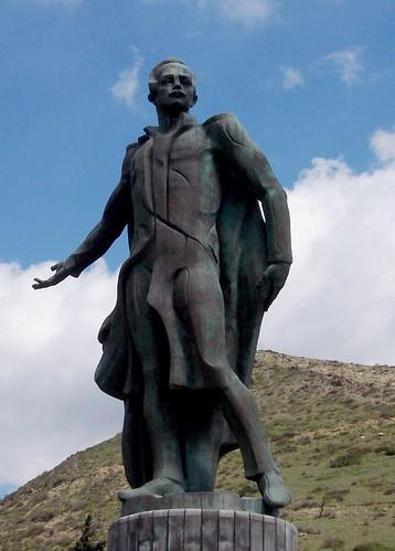 Mikhail Lermontov Statue, Mtskheta, Georgia