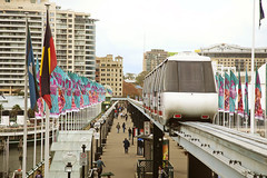 "Sydney Monorail #2 (""Pam's Pet Pictures"") Tags: raw sydney australia darlingharbour canoneos5dmk11"