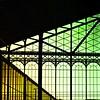 < (hiskinho) Tags: luz window silhouette yellow colores ventanas amarillo silueta principepio composición geometría triángulos colorefex