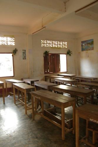 175.Champasak小學的教室