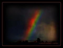 Artsy Rainbow (mountainbeliever) Tags: nature colors effects scenery colorado colorful skies views saturation rainbows processed picnik skytheme perfectsunsetssunrisesandskys deepcompositions