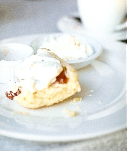 scones with jam and cream thanks