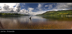Great Glen (Craig Robertson) Tags: water clouds landscape scotland photo highlands explore loch lochness inverness greatglen lochend